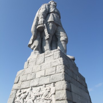 Паметник Альоша – Пловдив