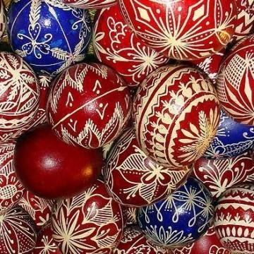 Изписването на яйца във Велинград