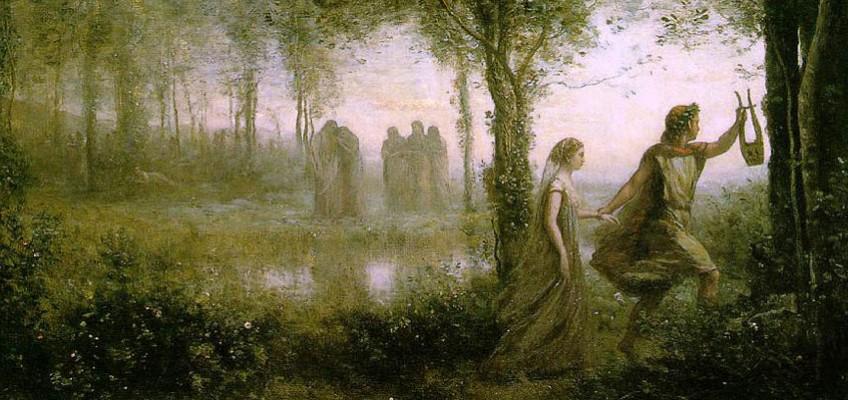 Легенда за Родопа и Орфей