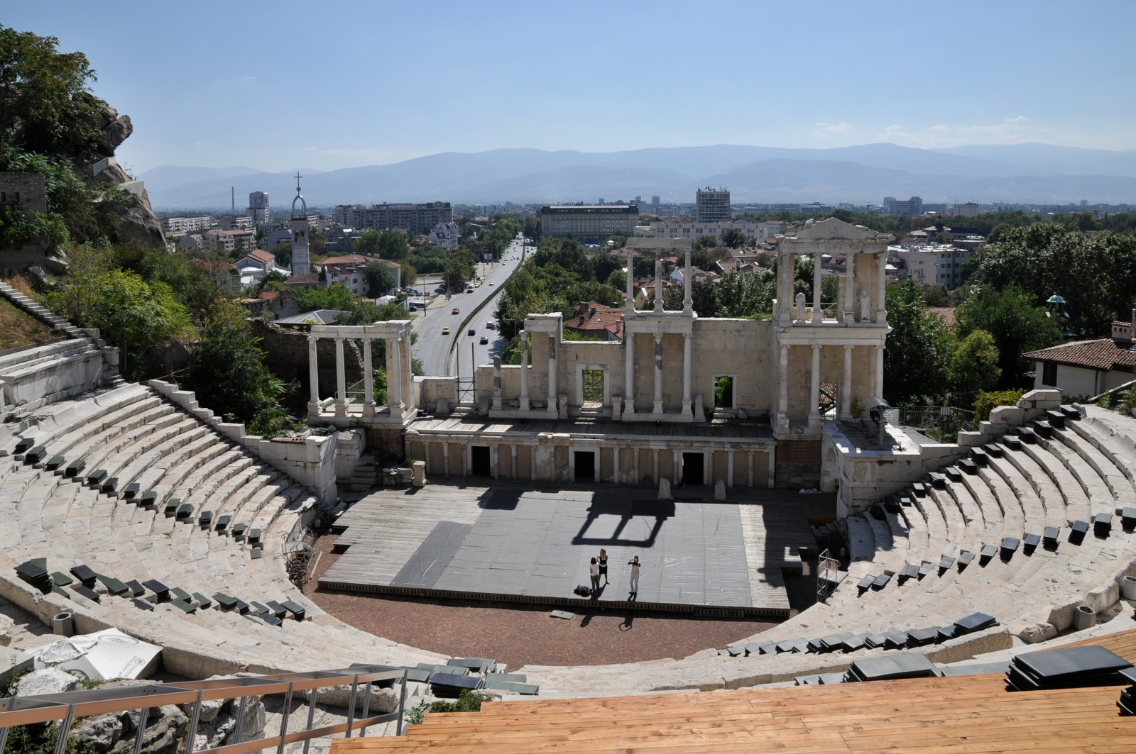 Амфи театъра в Пловдив