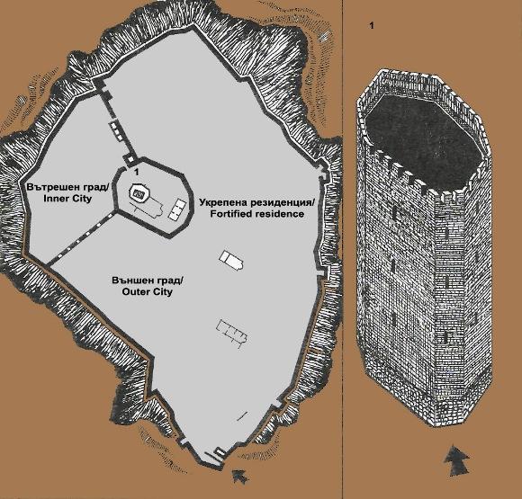 Крепостта Цепина