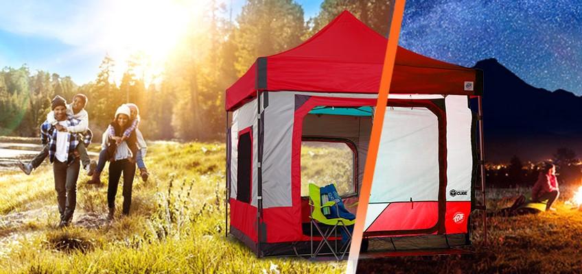 Къмпинг оборудване от ново поколение – Camping Cube